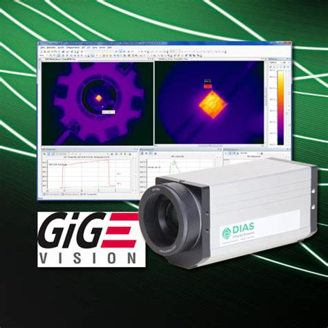 dias infrared cameras are now available with gige vision