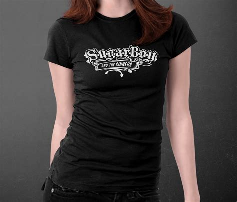 Tshirt Nrt t shirt black sugar boy the sinners
