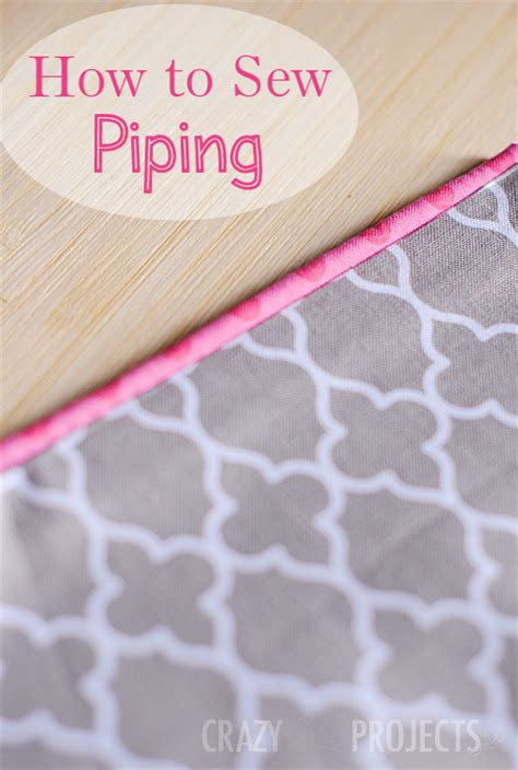 how to make upholstery piping how to make piping to sew with