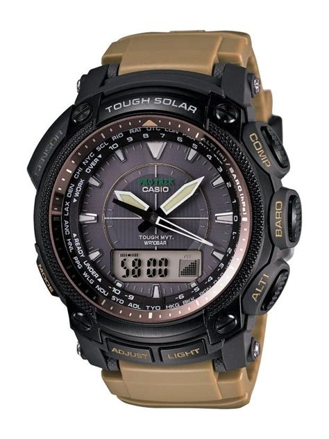 G Shock Protreck Black Gold casio watches casio s prw5050bn 5 protrek multi