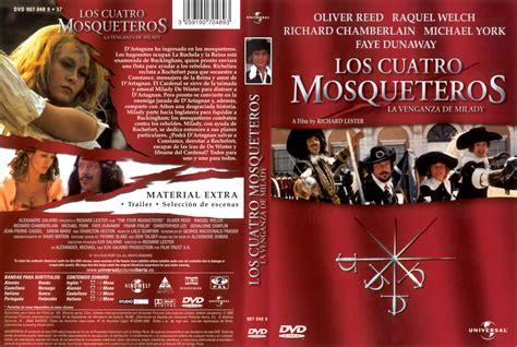 libro la venganza de los car 225 tula caratula de los cuatro mosqueteros la venganza de milady the four musketeers
