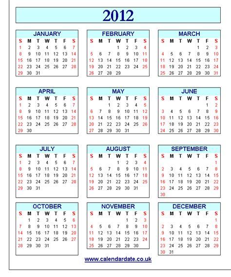 Calendar 2012 Printable 2017 Large Printable Calendar Calendar Template 2016