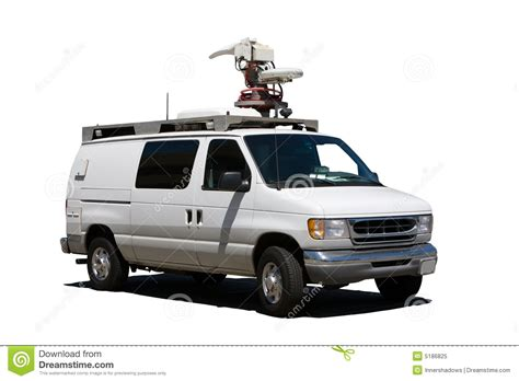 truck tv tv truck stock image image of broadcast television