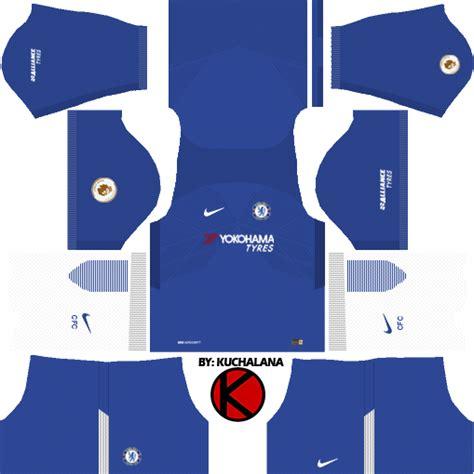 chelsea kit dream league chelsea f c kits 2017 18 dream league soccer kuchalana