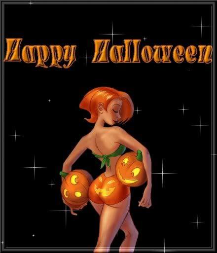 imagenes de halloween bonitas postales con brujas sexys para halloween aluin