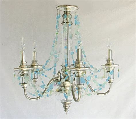 Sea Glass Chandeliers 216 Best Images About Beachglass Buffet On Pinterest Seaside Starfish And Cottages