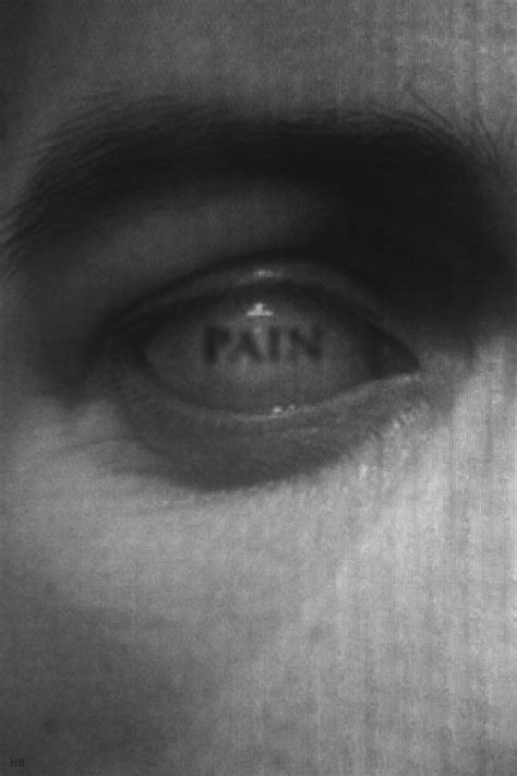 Painful Blind Eye Scary Depression Pain Monster B Amp W Sf Blind Eyes R Edone