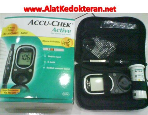 Alat Tes Kesuburan Paling Murah jual accu chek active alat tes gula darah paling akurat