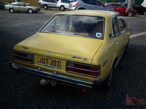 Chrysler Lancer by Chrysler Lancer Gl 1977 4d Sedan 3 Sp Automatic 1 4l Carb