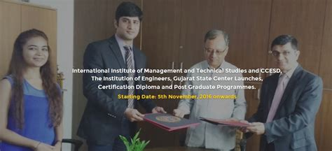 International Institute Of Management Sciences Distance Mba by Professional Diploma And Post Graduate Programmes Launched