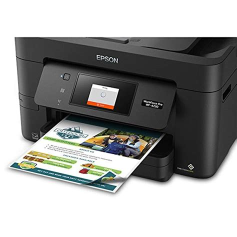 Epson Workforce Pro Wf 4720 Wireless All In One Color