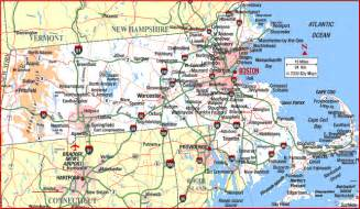 Massachusetts Road Map by Highway Map Of Massachusetts Aaccessmaps Com