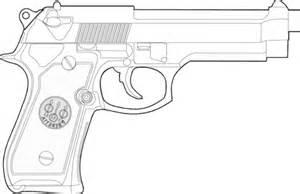Coloriage Pistolet Beretta Coloriages 224 Imprimer Gratuits