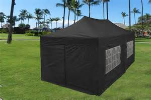 Enclosed Gazebo Tent by 10 X20 Enclosed Pop Up Canopy Party Folding Tent Gazebo