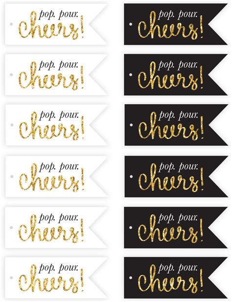 printable new year tags free new year s eve print tags pizzazzerie