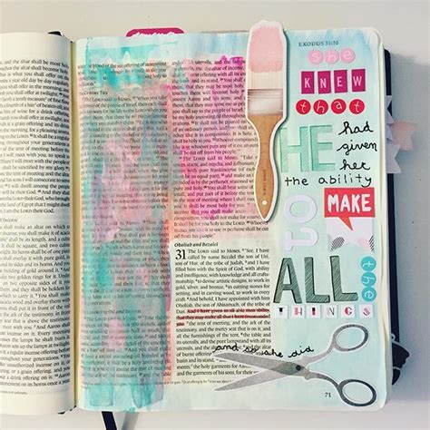 instagram post by rc ritacyc journal journaling and instagram post by kristyn faithandsparkles bible