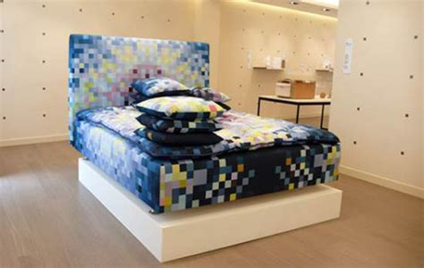 pixel bedding limited edition pixelated bed for digital dreaming