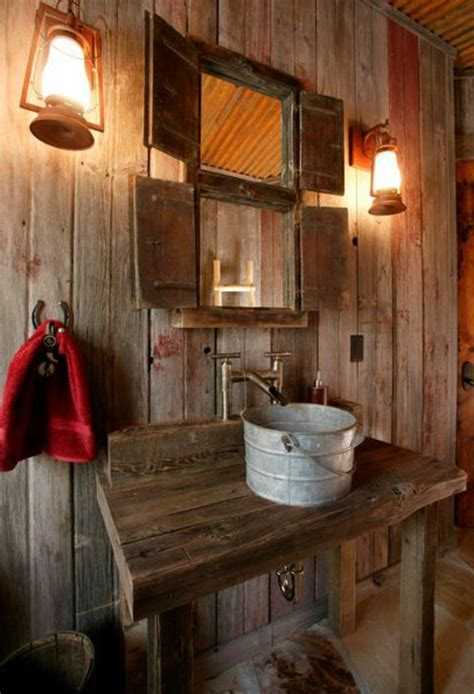 waschbecken für garten chestha idee rustikal zaun