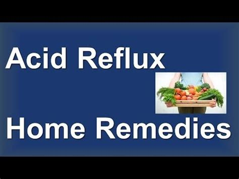 acid reflux home remedies cure acid reflux at home