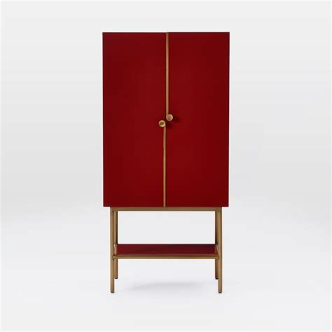 west elm graphic bar cabinet an open and shut case the sleekest bar cabinet around