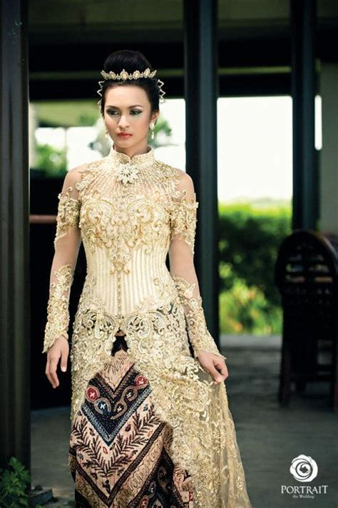 wedding java bridal kebaya from fashion designer djoko