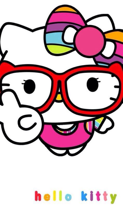 hello kitty with glasses wallpaper hello kitty junkies thehellokittyjunkie