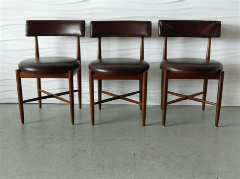 G Plan Dining Room Furniture Ib Kofod Larsen G Plan Teak Dining Chairs At 1stdibs
