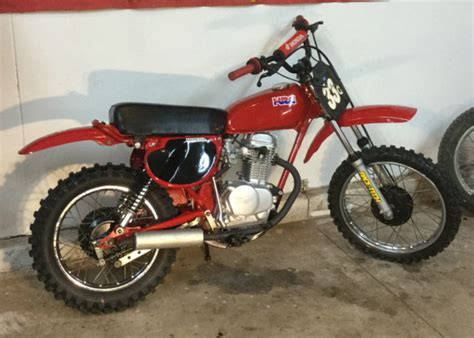 1979 honda xr80 vintage 1979 honda xr80 restored and in excellent condition