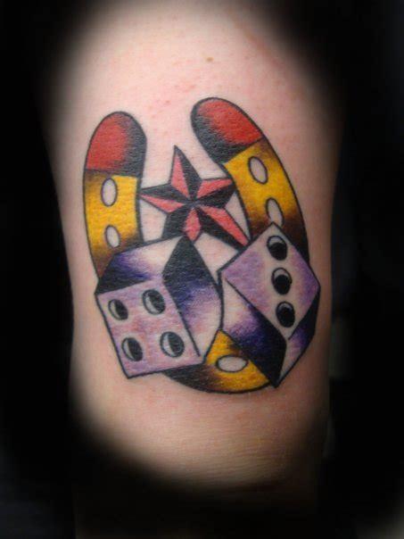 new school dice tattoo dice tattoo jimmy tatts jimmy johnson tattoo