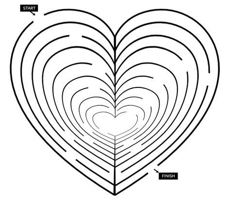 printable heart maze valentine printable heart maze parents scholastic com