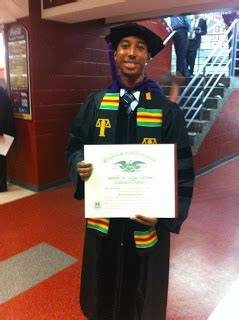 Famu Mba rattler nation former famu sga president earns degree