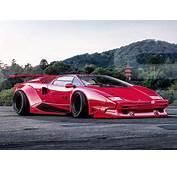 Lamborghini Countach Render By Khyzyl Saleem