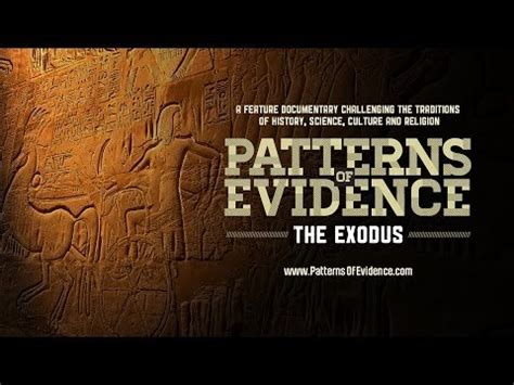 pattern of evidence online patterns of evidence the exodus watch online