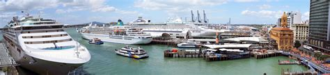 plan approved for berthing large cruise ships ourauckland