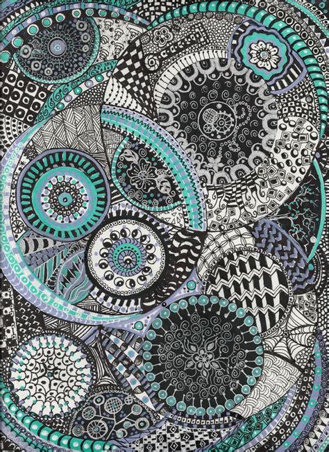 zentangle pattern sles best 25 tangle doodle ideas on pinterest zentangle