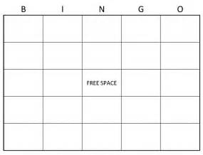 bingo cards templates blank bingo cards blank bingo card template