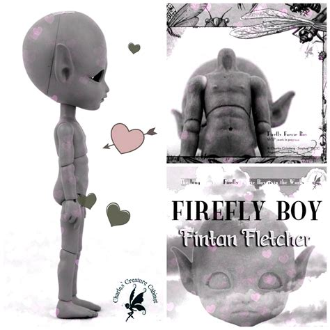 12 cm jointed doll pre order closed fintan fletcher quot boy firefly faerie