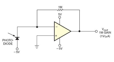 photodiode op op does this photodiode circuit work electrical engineering stack exchange