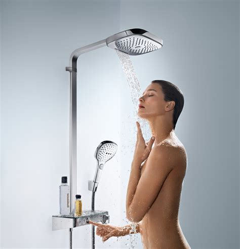 hans grohe hansgrohe launch new raindance collection in design