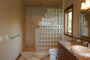 glass block bathroom ideas seattle glass block glass block shower kits install in 4
