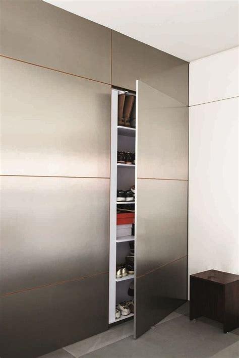Concealed Door Storage Cabinet Shoe Bag Cabinet For Btwn Door Tv Feature Wall Concealed Storage Living Room
