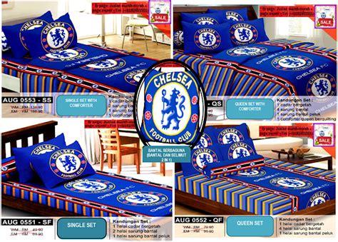 Selimut Arsenal Cadar Bola Kod Aug Manchester United Chelsea Liverpool