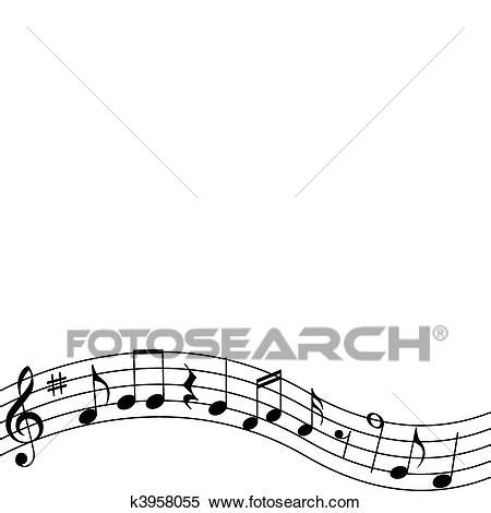 clipart note musicali clipart note musicali k3958055 cerca clipart