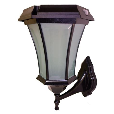 carriage ls home depot outdoor solar coach lights solar goes green solar black