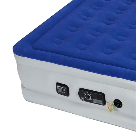 serta raised air bed serta raised queen size bed air mattress with never flat