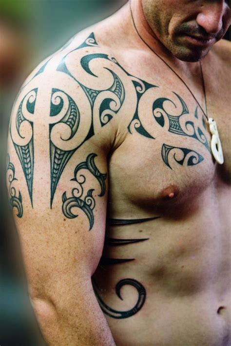 tattoo on shoulder and chest tattoos for men on chest to shoulder all tattoo