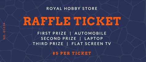raffle ticket maker design  custom raffle