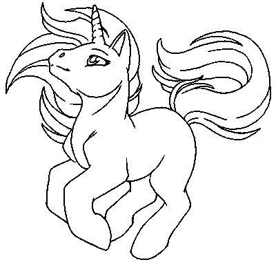 cute unicorn coloring page free my little pony unicorn