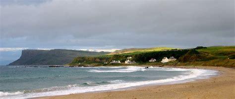 Ballycastle beaches in United Kingdom, Northern Ireland