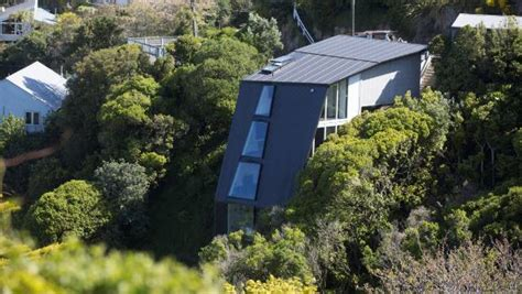 grand designs steel house grand designs cliff hanger creates prototype for steep sites stuff co nz